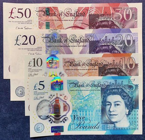 Buy British pounds online